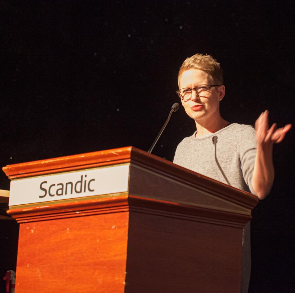Anette Musdalslien, ordfører i Gausdal.