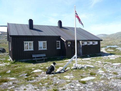 Reinheim er ei selvbetjent hytte i Stroplsjødalen, og en fin dagstur fra Snøheim