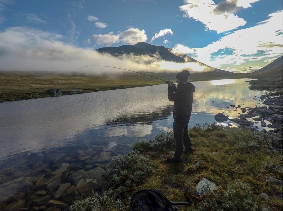 Fisking på Fremre Illmanntjønne