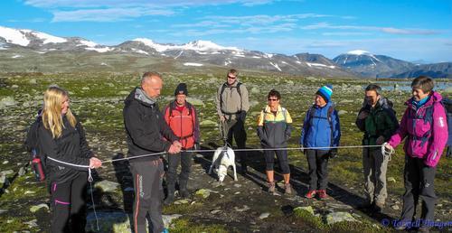 Offisiell åpning av DNT merket rute til Rasletind
