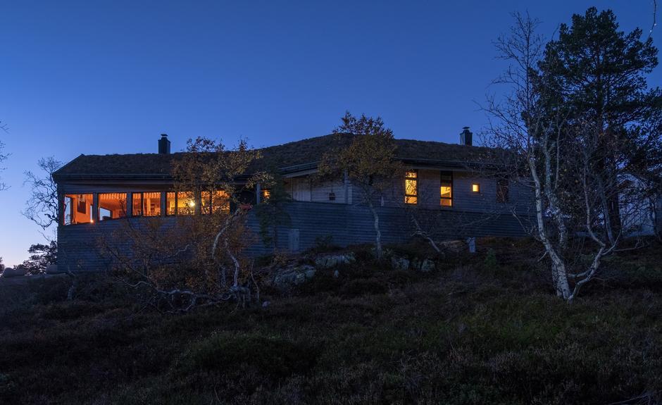 Overnatting på en turisthytte er delingsøkonomi i praksis. Her fra Jonstølen - ett av Preben Falcks favorittsteder.