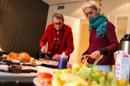 Årets første Åpen Kafé for frivillige