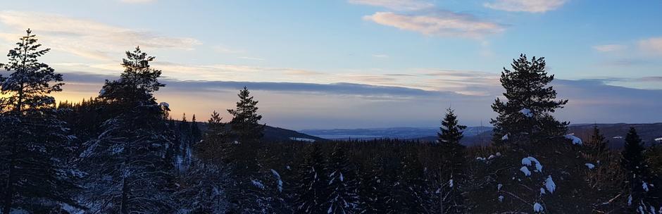 Utsikt fra Kobberhaughytta