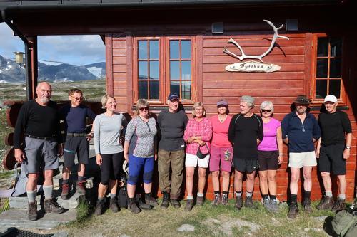 På tur i Tafjordfjella