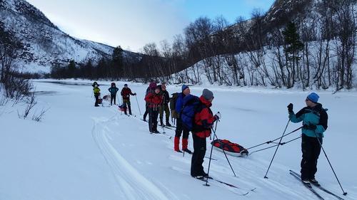Skitur til Nedrefosshytta