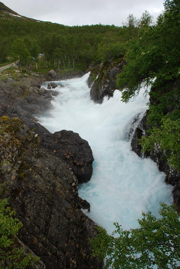 Vakker natur på Hardangervidda