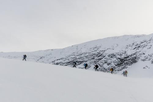 Vintertur ved Danskehytta