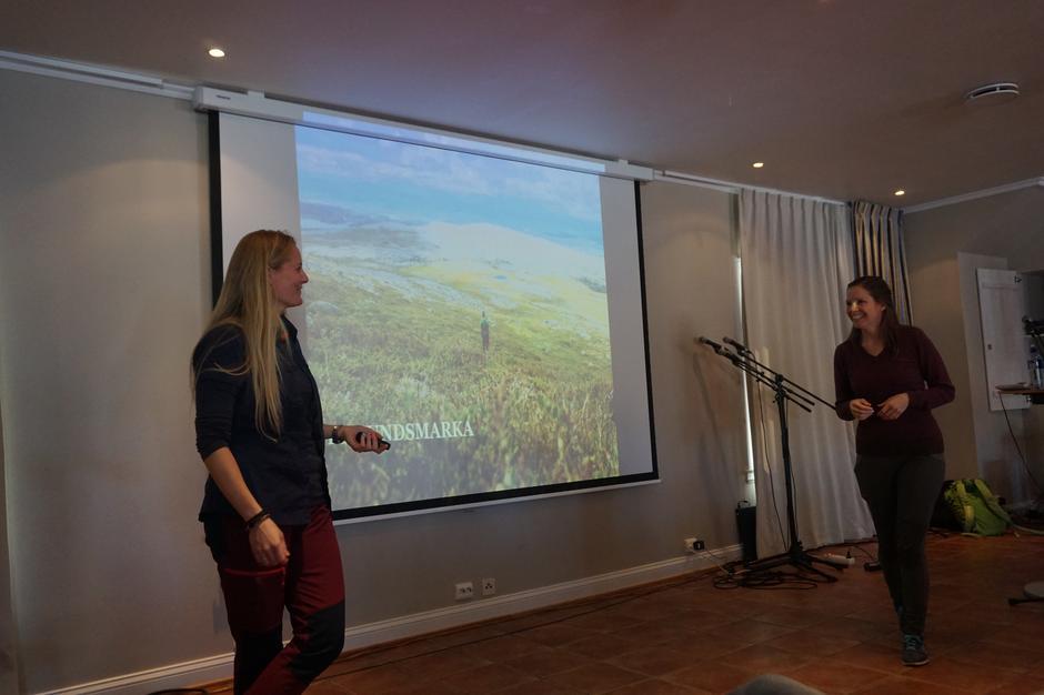 Fra Tursøstrenes flotte foredrag under Friluftsbokfestivalen i fjor.