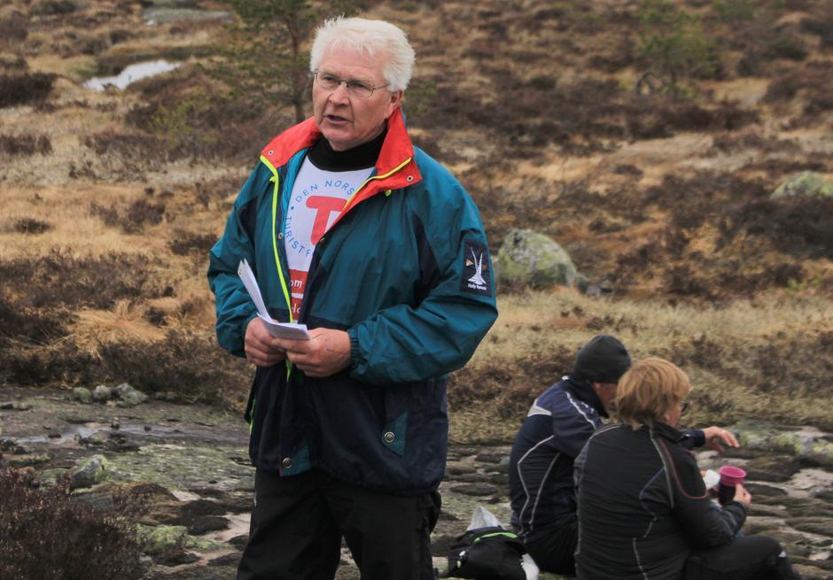 Nils Olav Sunde frå Statskog.