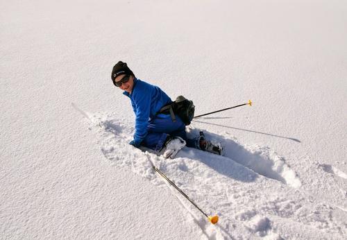 Snø-aktiviteter på Hadseløya