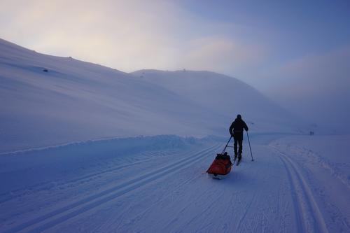 15.1.2020 I høyfjellet er det skiføre, men mildt.