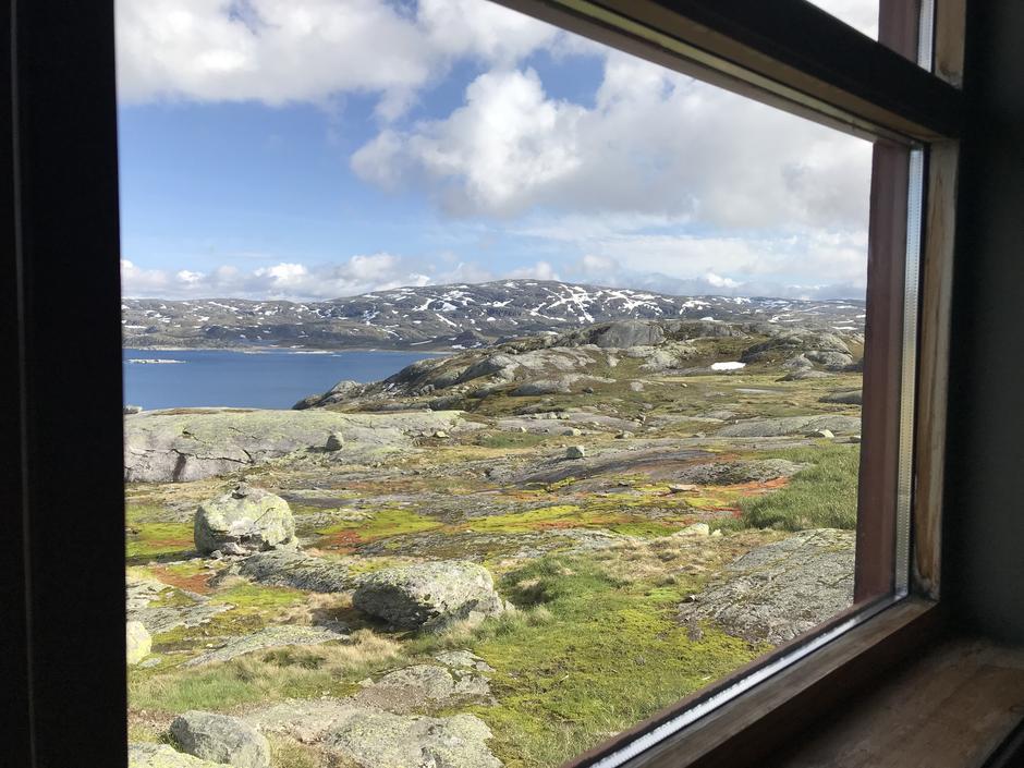 Utsikt fra Holmavatn.
