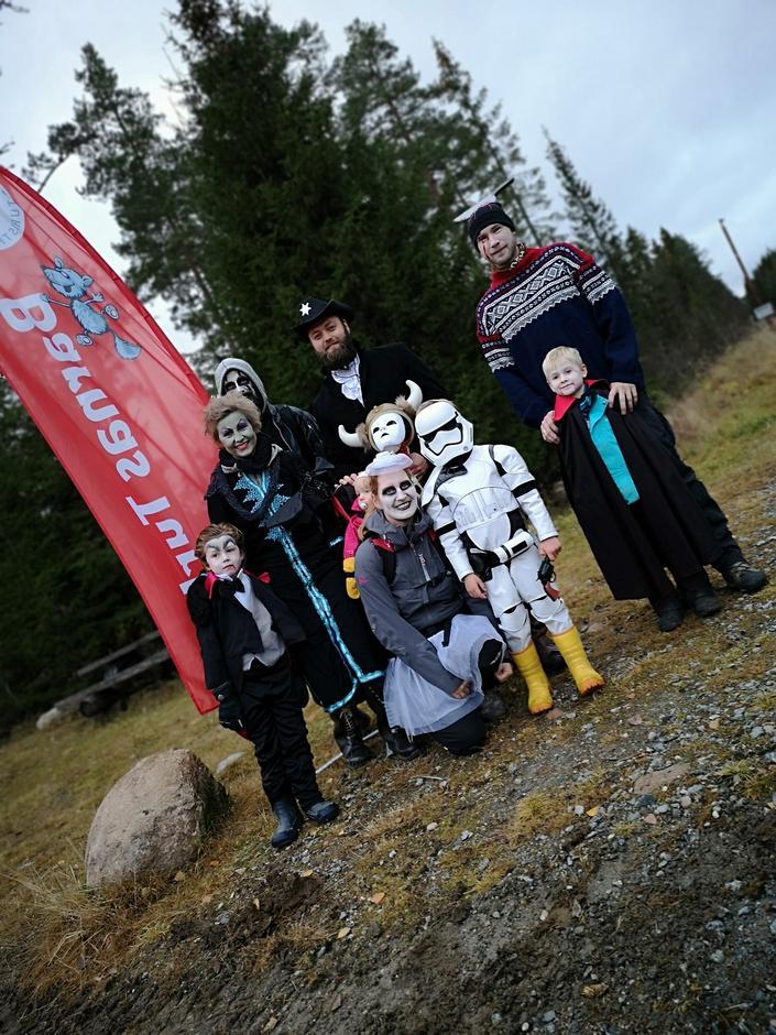 Barnas Turlag Gjerdrum har vært flinke til å arrangere morsomme aktiviteter for liten og stor