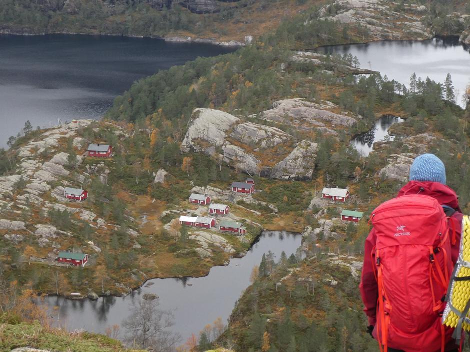 Idylliske Nordkvingesetrene i Masfjorden.