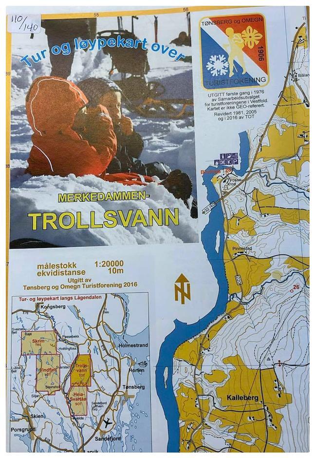 Trollsvann 1:20 000