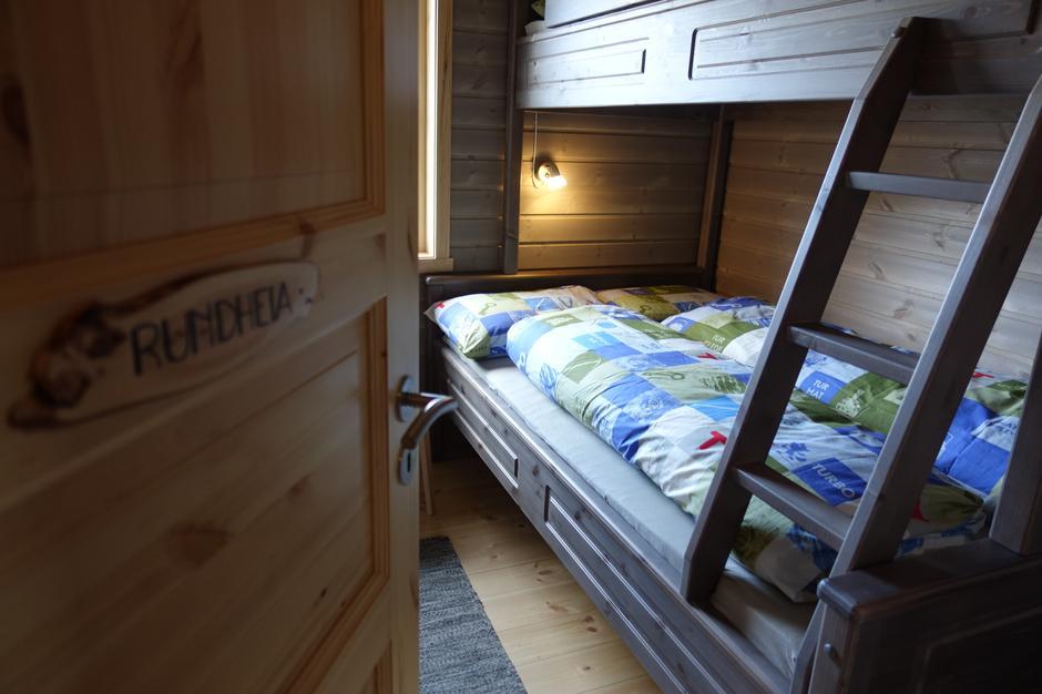 Soverom Rundheia med tre sengeplasser