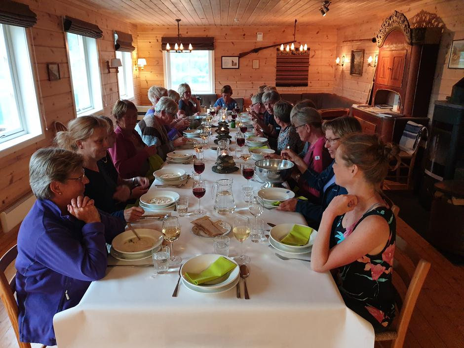 3 retters middag på Kaldhusseter
