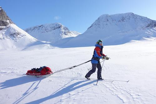Isdalen i indre Troms
