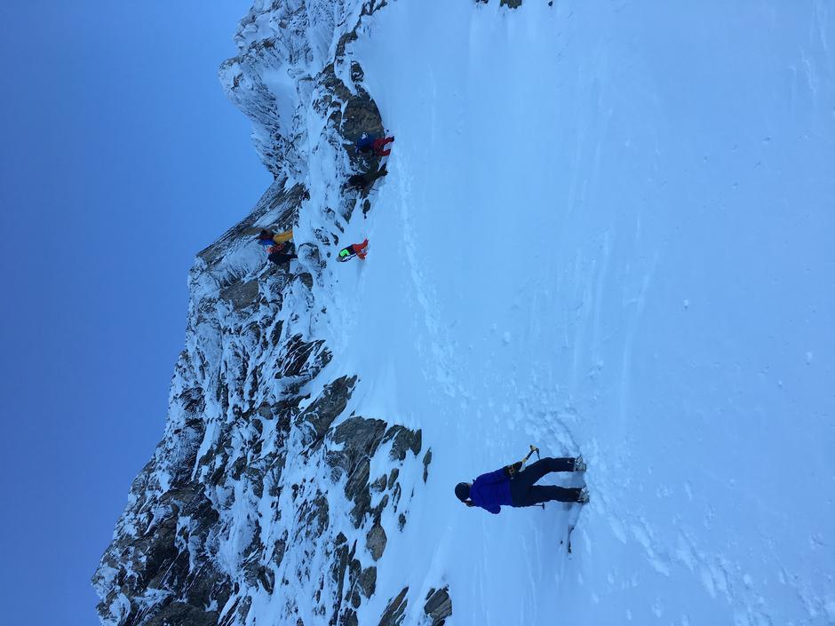Siste biten gikk uten ski