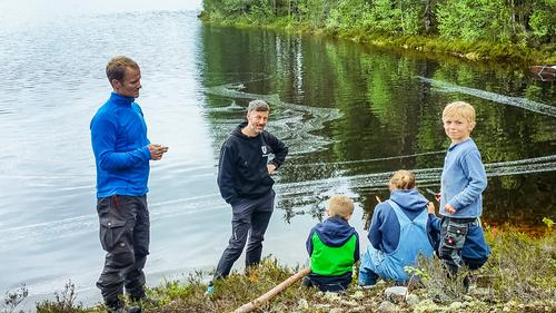 Dugnadsrapport Pråmvika 8. og 10. juni