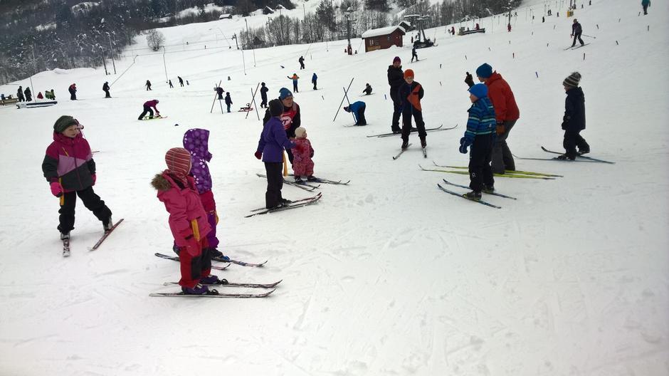 KDU Sogn skisenter februar 2016