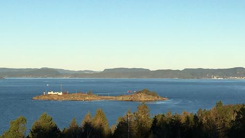 Utsikt fra Jeløya mot Hurum