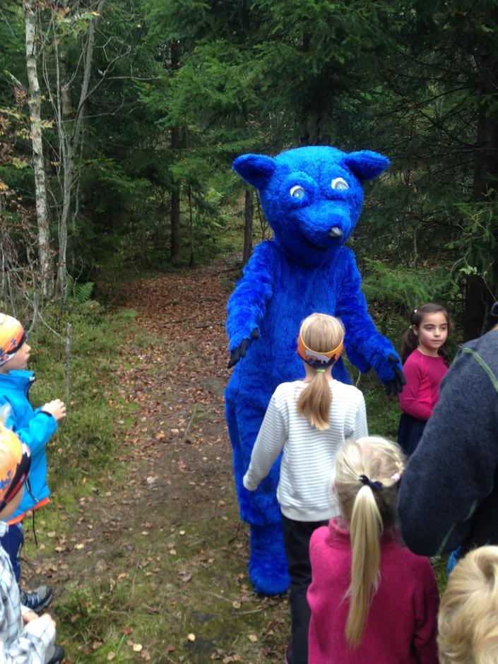 Turbo møter barna