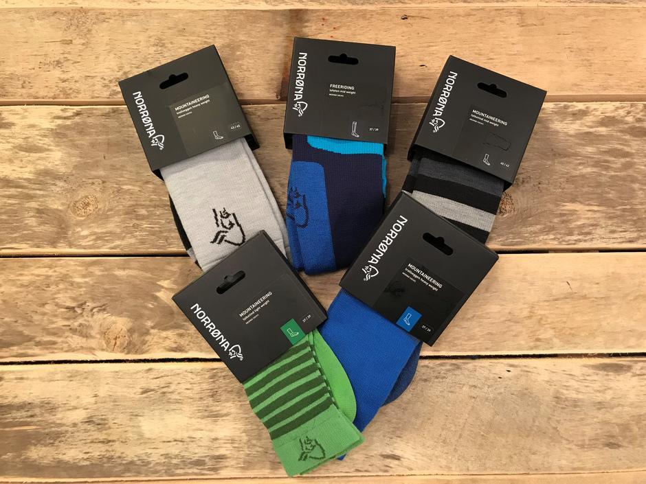 Norrøna sokker m/ull og nylon. Veil. 249-349,-. Medlemsrabatt: -50 %
