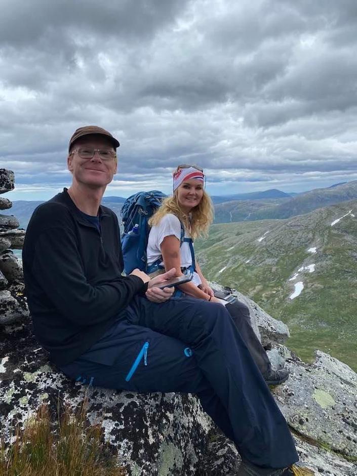Fra turen til Pekhøtta og Fruhøtta.