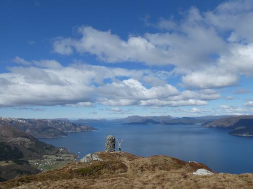 Fire fine fjellturar ved fjorden