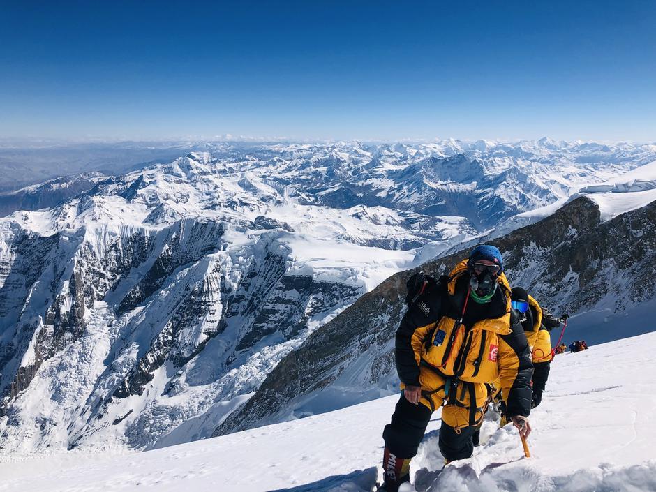 Håkon Åsvang på veg til verdens farlegaste fjell, Annapurna i Himalaya, 8091 moh
