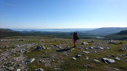 Utsikt over Porsangerfjorden