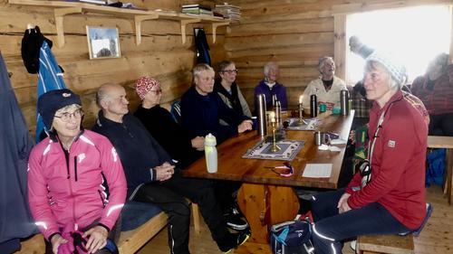 Skitur til Vollkoia/Blåmyrkoia 07.02.2018.