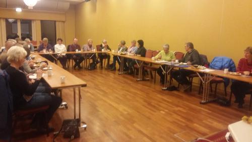 6. november hadde Seniorgruppa sitt haustmøte