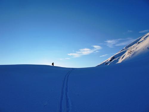 Skitur til Kalvedalen i Lindås, Nordhordland