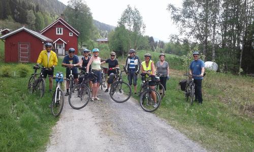 22. mai hadde Seniorgruppa sykkeltur på Valdresbanevegen