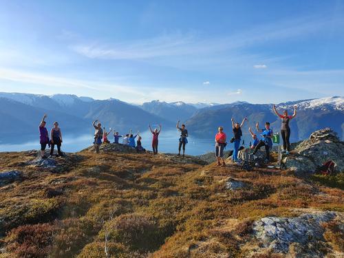 Slik gjekk turen: onsdagsturen til Langavatnet