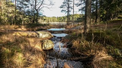 I Søndre Ovann er det bademuligheter
