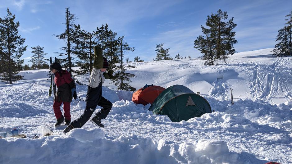 Vintertelttur Blefjell 2021