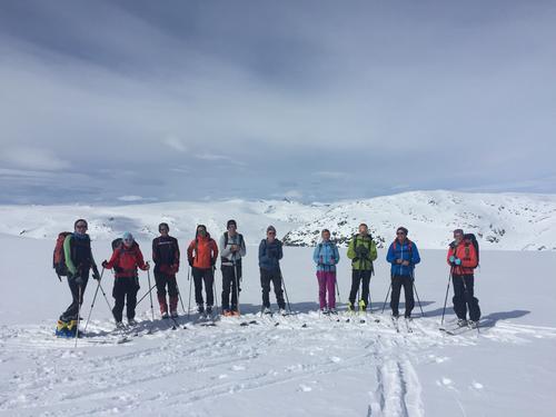 Fantastisk skitur på Spørteggbreen