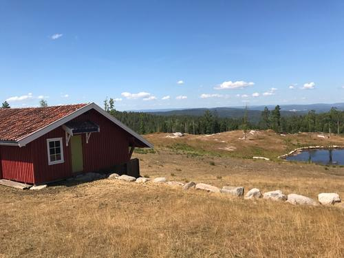 Bjønnåsen med utsikt nordover.