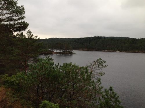 Siglingavatnet på Askøy.