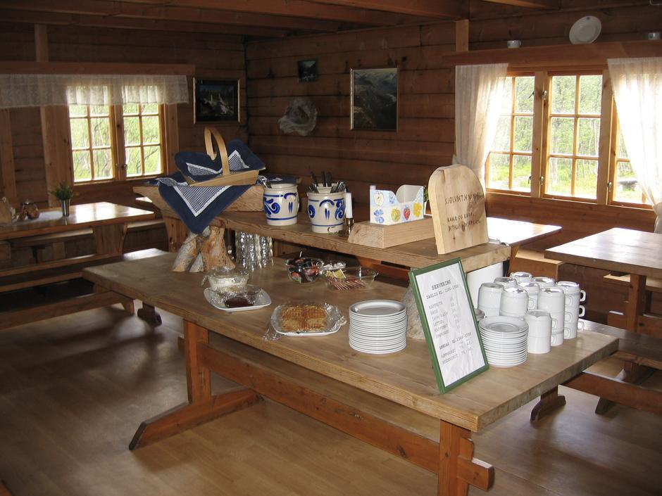 Spisesalen på Reindalseter