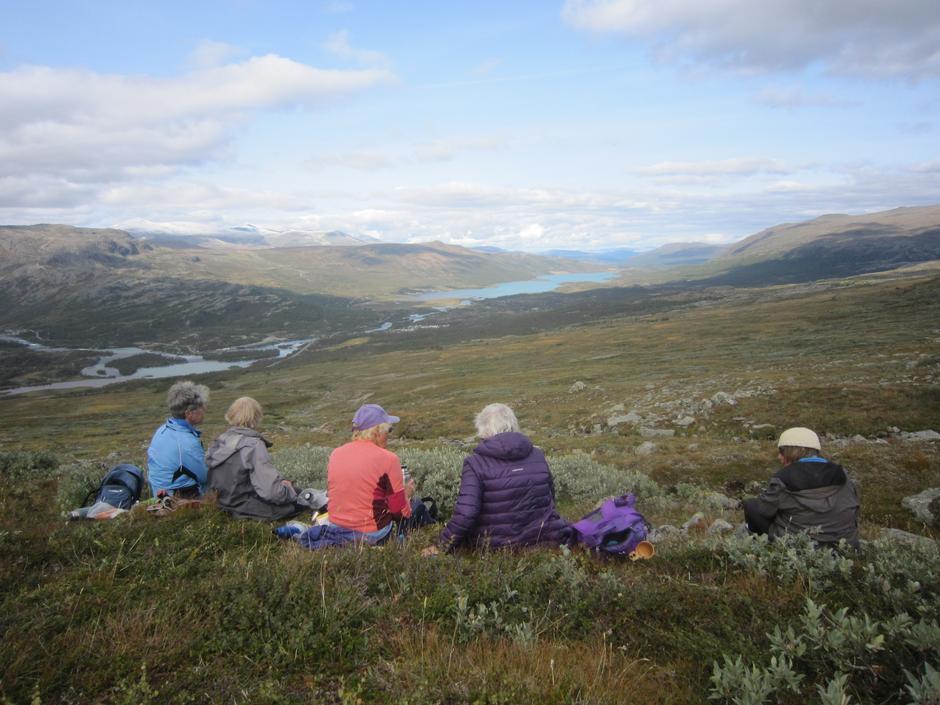 Utsikt over Sjodalen