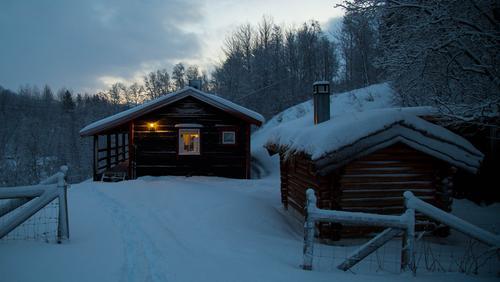 hytte ved Marjastilla