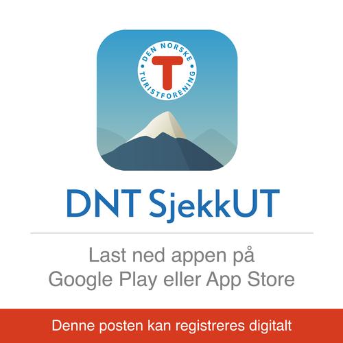 Prøv SjekkUT-appen på 7-fjellsturen