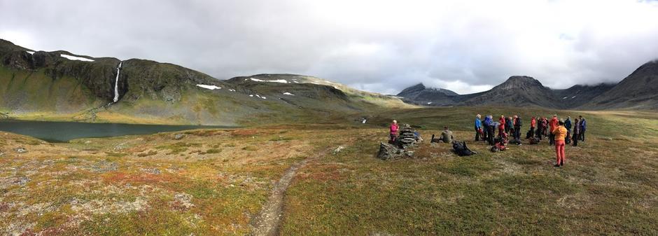Gunnarfossen, Isdalen