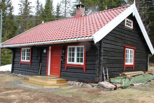 Gamle Torsætra står klar for overnatting etter koronapause. Alle besøk må forhåndsbookes .