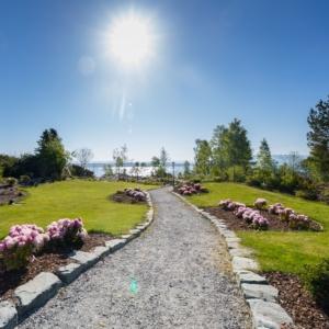 Roseparken i Bekkjarvik
