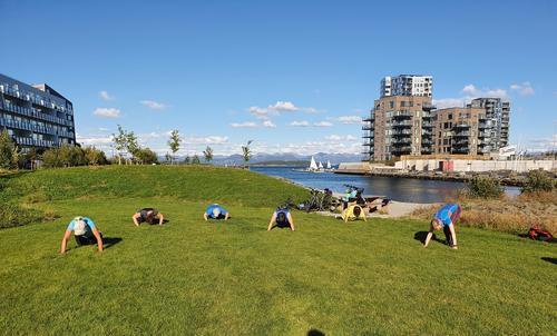 Treningsutfordring ga 29.000 kroner til Stavanger Turistforening